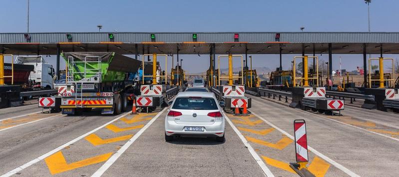 """In Spanien muss auf allen Straßenabschnitten Maut entrichtet werden, die mit den """"AP""""-Schildern für """"Autopistas"""" markiert sind."""